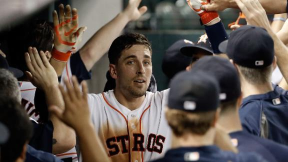 Video - Grand Slam Lifts Astros Past Rangers