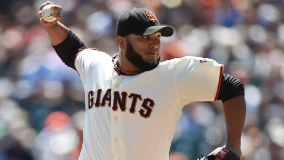 Record-Setting Petit Leads Giants Past Rockies