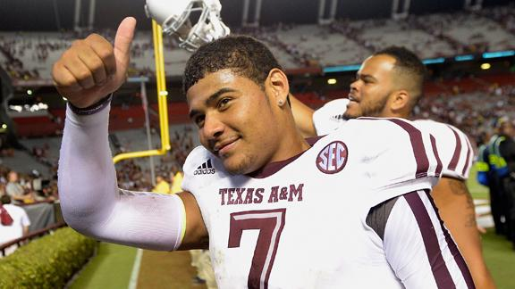 Kenny Hill Leads A&M To Shocking Rout