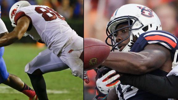 Tale of the tape for Auburn vs. Arkansas