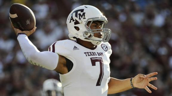 Manziel is big fan of 'Kenny Football' at A&M