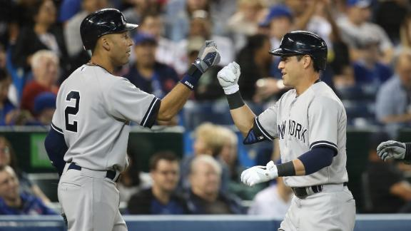 Ellsbury, Yankees Sink Blue Jays