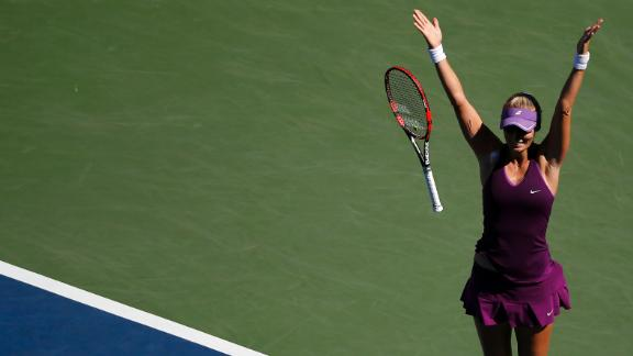 Lucic-Baroni Shocks Halep