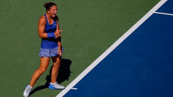 Errani Talks Win Over Venus