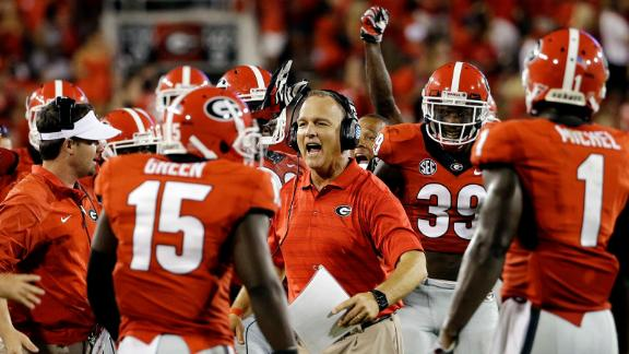 Richt thankful for depth of players