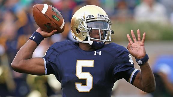 Golson Shines In Notre Dame Return