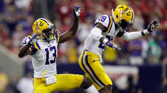 LSU Rallies Past Wisconsin