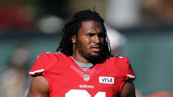 49ers' McDonald arrested for domestic violence