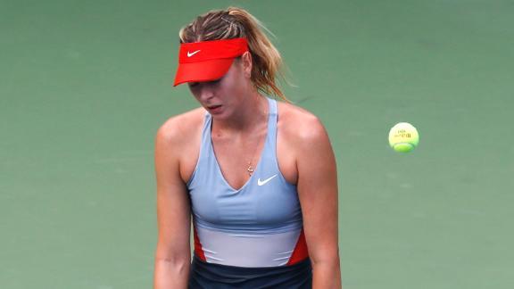 Sharapova Falls To Wozniacki