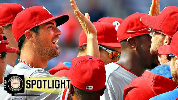 Phillies Throw Combined No-Hitter