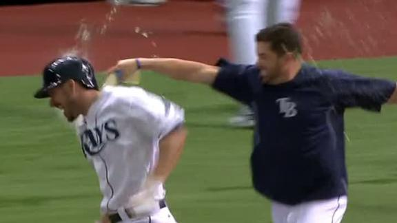 Rays Walk Off Against Red Sox