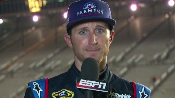 Kasey Kahne Talks Big Win