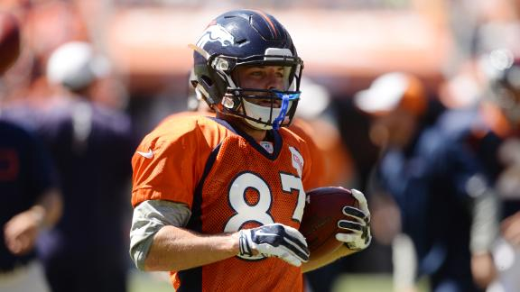 Welker Practices, Not Cleared For Contact