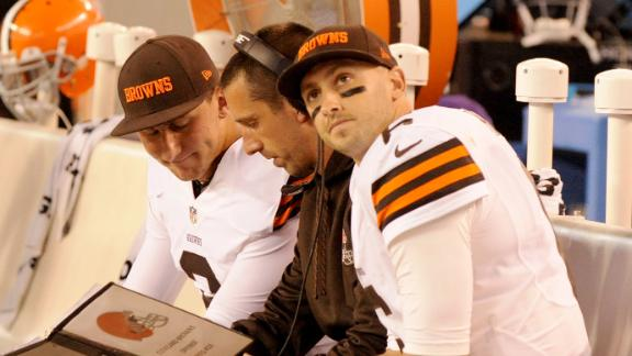 Steelers Preparing For Manziel, Hoyer