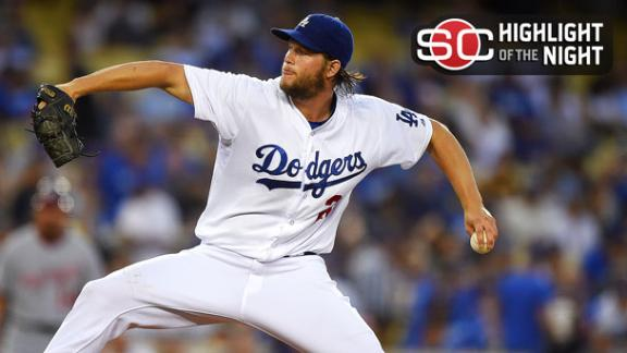 Kershaw Sharp For MLB-Leading 17th Win