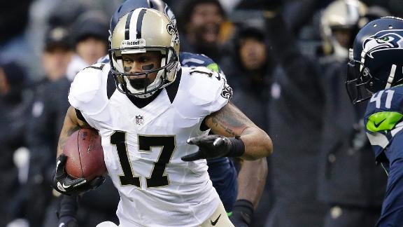 Saints bring back released WR Meachem
