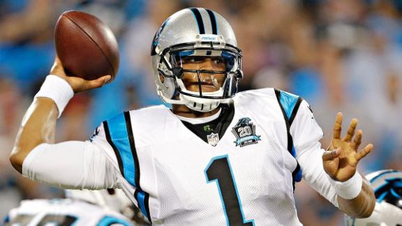 Panthers Not Changing Game Plan For Newton's Ribs