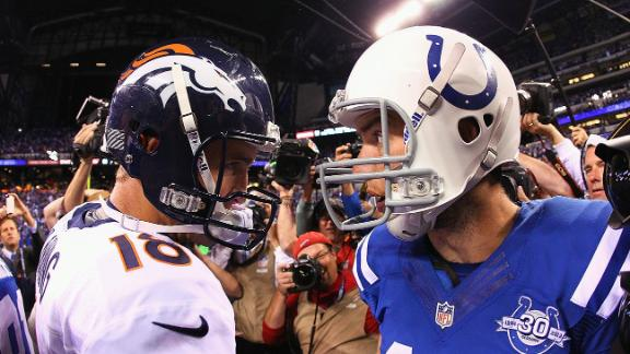 Which QB Would You Rather Have: Peyton Or Luck?
