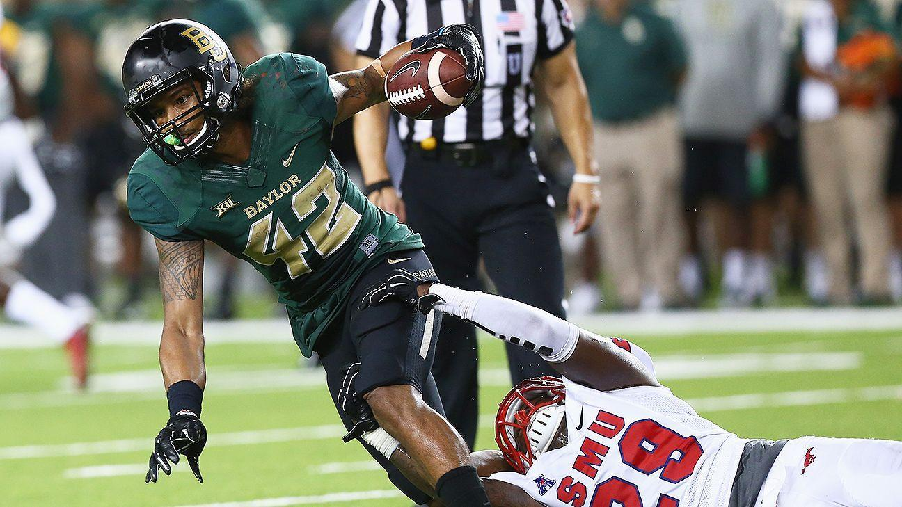 Wrist Injury Sidelines Baylor WR Norwood