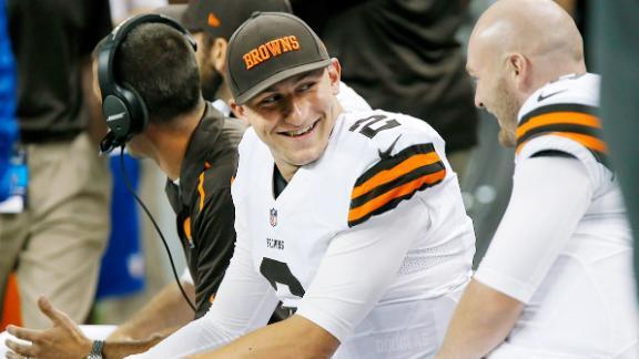 Manziel aims to trademark 'Johnny Cleveland'