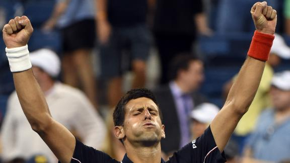 Djokovic Moves Past Murray