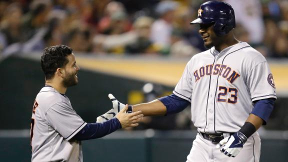 Video - Carter Homers In Astros' Win