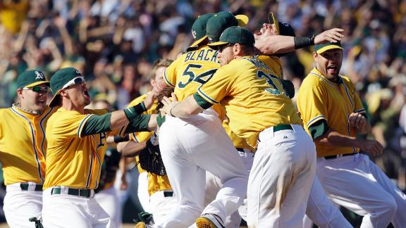 Video - A's Rally For Walk-Off Win