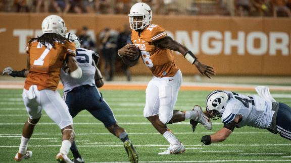 Tough Loss For Horns, QB Swoopes
