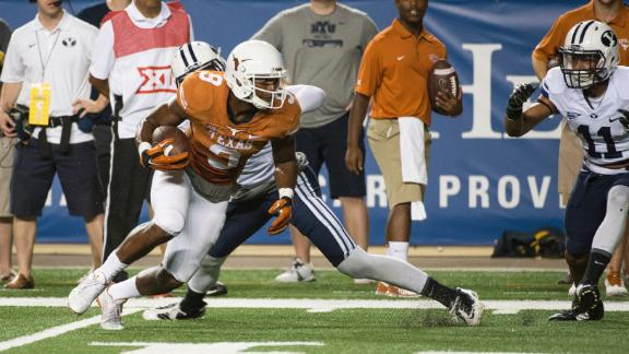 Harris on Swoopes and Texas Offense