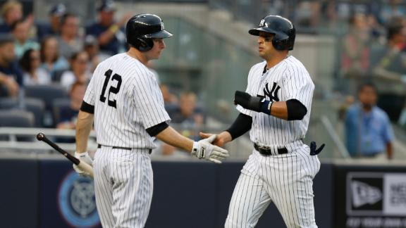 Yankees Break Out Against Royals