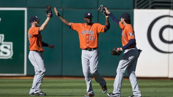 Video - Astros Come Back Against Athletics