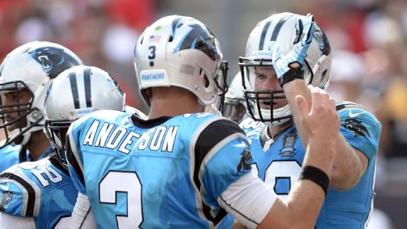 Panthers Win Without Newton