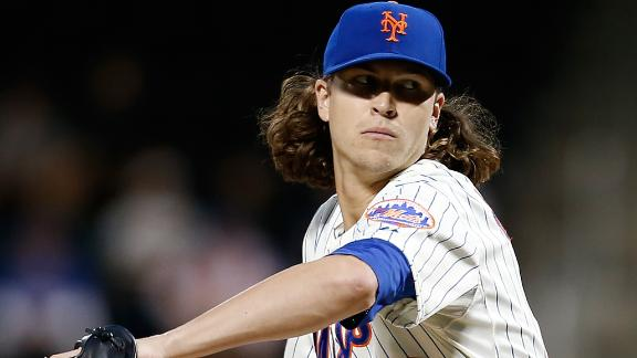 Video - DeGrom Pitches Mets Past Rockies