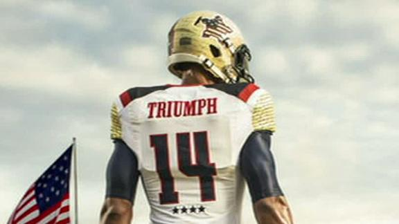Maryland To Sport Patriotic Look