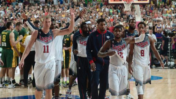 Team USA Cruises To Final