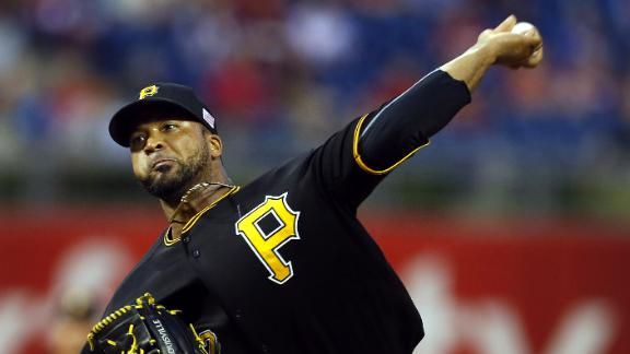 Video - Liriano Pitches Pirates Past Phillies