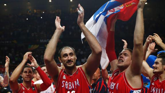 Video - Serbia Tops France To Face USA In Final