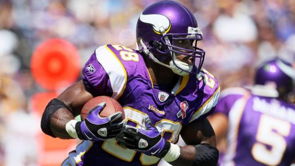 Adrian Peterson Deactivated For Sunday