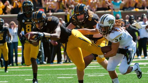 Mizzou shows depth in 38-10 win over UCF