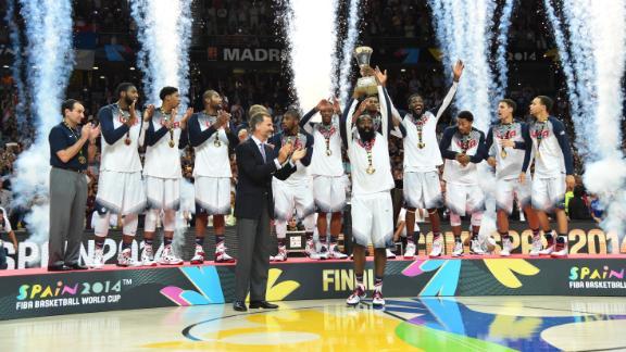 Video - Coach K, Cousins, Gay React To USA's Win