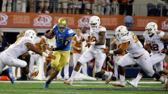Texas Suffers Loss to UCLA
