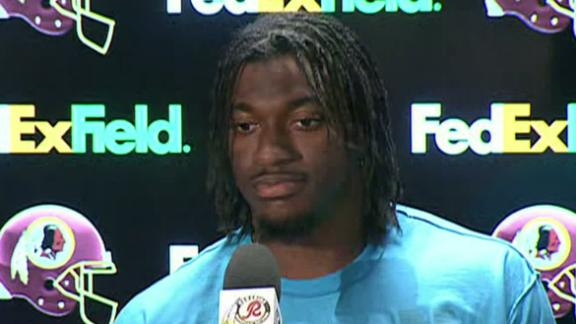 RG III: 'Knew Something Was Wrong'