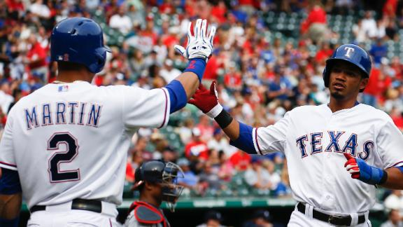 Rangers Trounce Braves