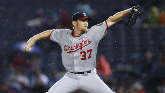 Nationals Double Up Braves