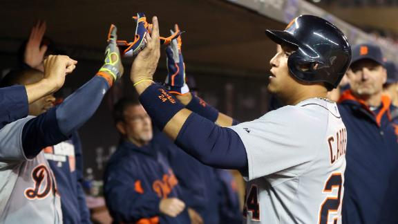 Video - Hunter, Cabrera Power Tigers Past Twins