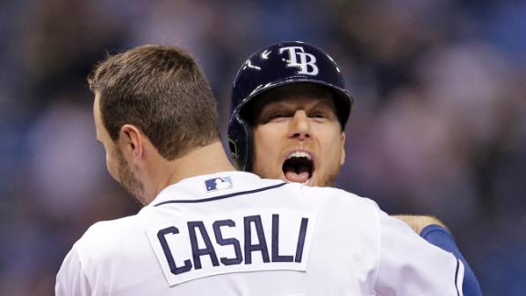 Video - Rays Walk Off Against Yankees