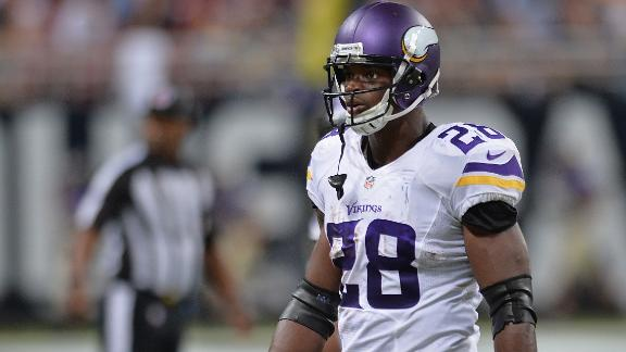 Vikings Reinstate Peterson
