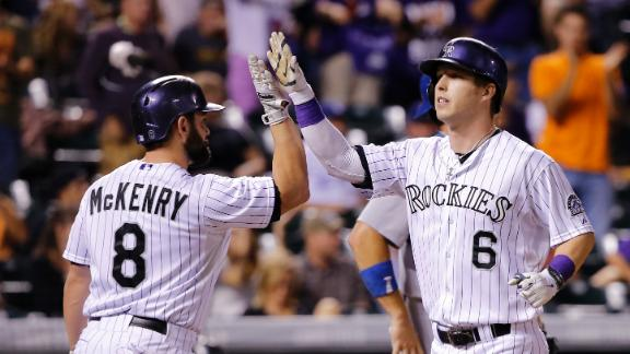 Video - Rockies Cruise Past Dodgers