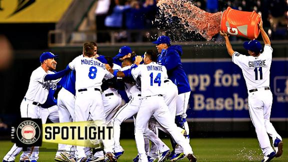 Royals Rally For Walk-Off Win
