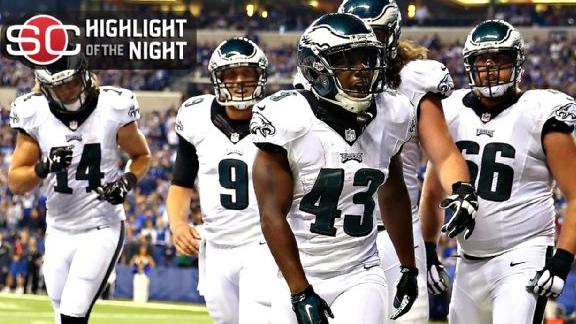 Eagles Rally Past Colts